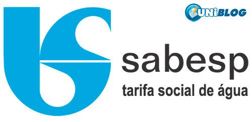 tarifa social sabesp