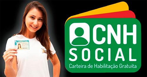 Como fazer CNH Social