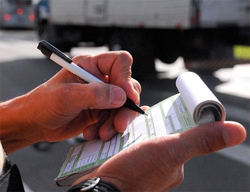 Como reverter uma multa de trânsito em SP