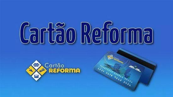 Cartão Reforma Caixa