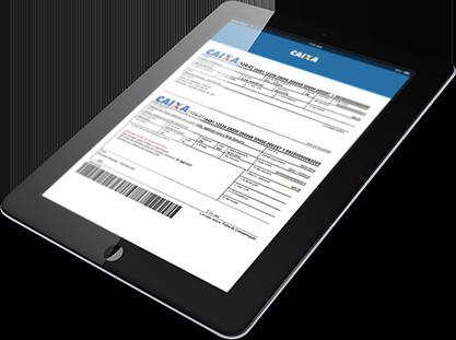 Solicitar boleto Caixa segunda via pelo app