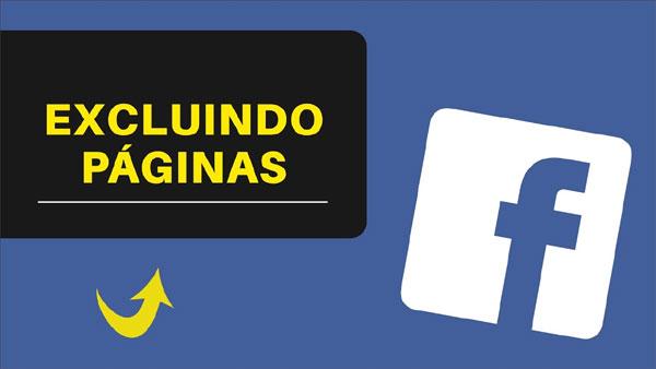 Como excluir página do Facebook