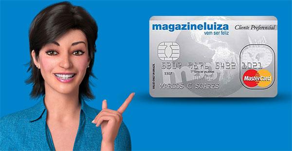 Como fazer o cartão do Magazine Luiza