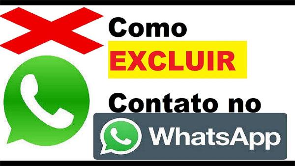 Como excluir contato do WhatsApp