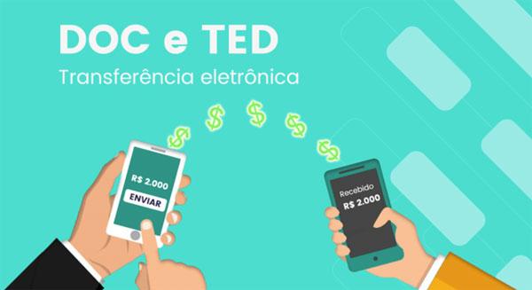 Qual a diferença entre DOC e TED